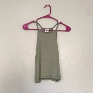 Tilly's cropped tank top